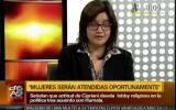 Embedded thumbnail for Eliana Cano, entrevista sobre la aprobación del Protocolo de Aborto Terapéutico