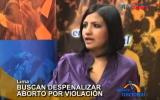 Embedded thumbnail for Campaña para despenalizar el aborto por violación